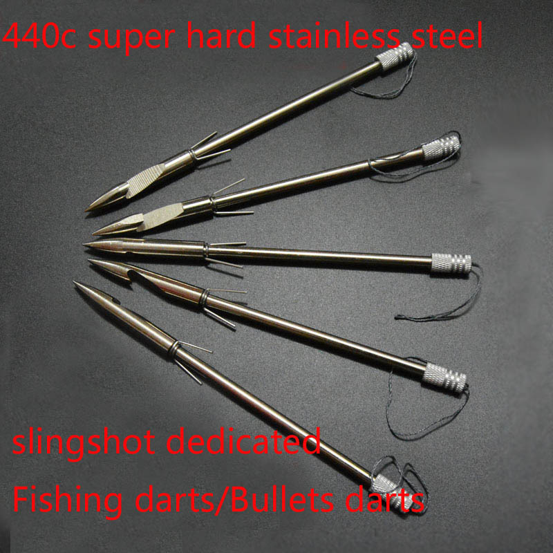 100 шт. Нержавеющаясталь рогатки головы стрелка Broadheads лука стрельба рыбы Рогатка рыбалки охоты советы стрелки