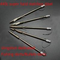 100 pcs Stainless Steel Slingshot Arrow Head Broadheads Bow Shooting Fish Slingshot Fishing Hunting Tips Arrowheads