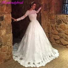 Kroisendybridal QFS007 Wedding Dresses Long Sleeves