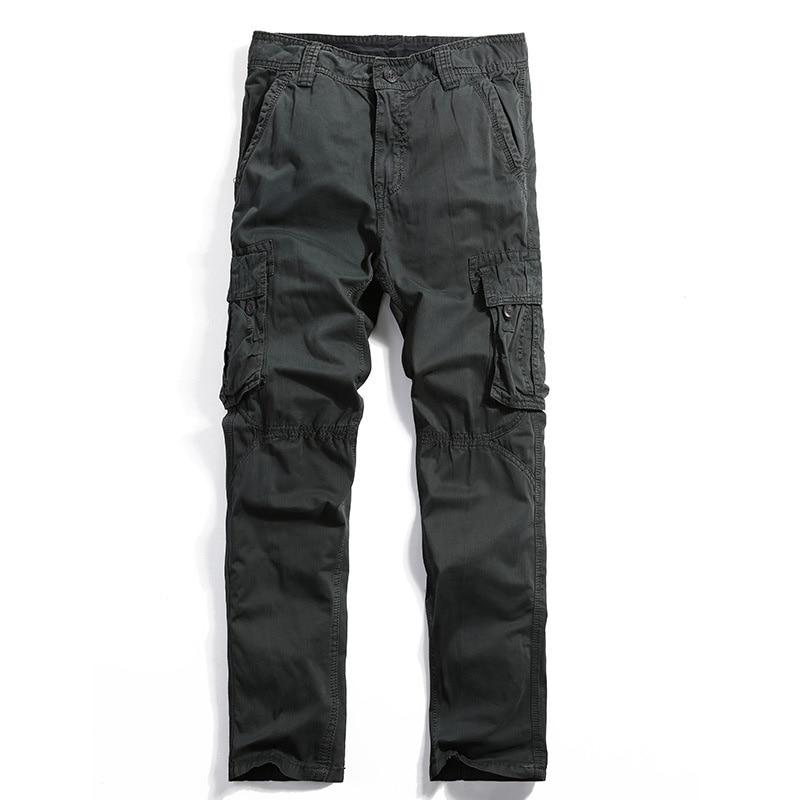Envío de la gota Nuevos Hombres Pantalones de Trabajador Militay - Ropa de hombre - foto 4