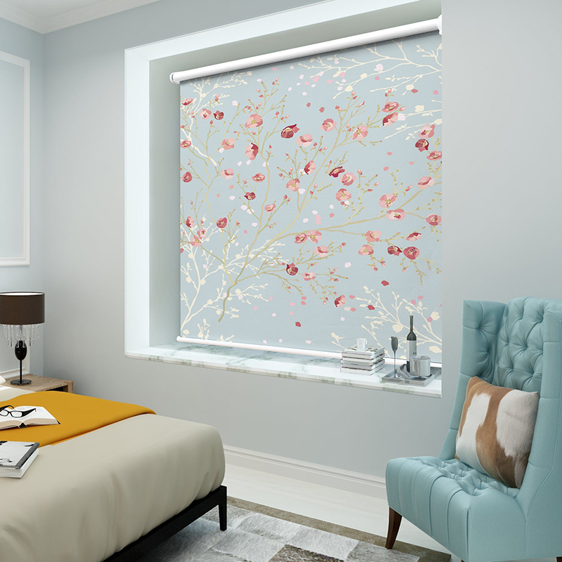 중국 현대 그림 블라인드 꽃과 새 인쇄 블라인드 트리 풍경 디지털 인쇄 블랙 아웃 롤러 블라인드-에서블라인드 ,그늘 & 셔터부터 홈 & 가든 의  그룹 2