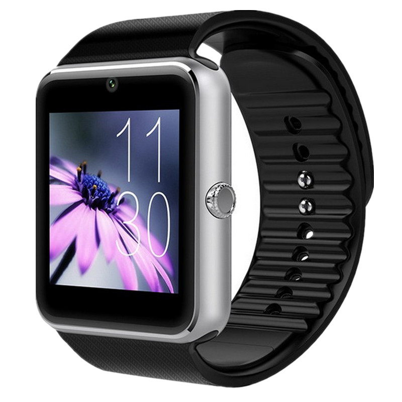 Smart Watch GT08 Clock Sync Notifier Bluetooth Connectivity Android Phone for Apple iPhone IOS Smartwatch With Sim Card Slot new arrive gt08 smart watch bluetooth sim card slot push message bluetooth connectivity nfc for iphone android phoones