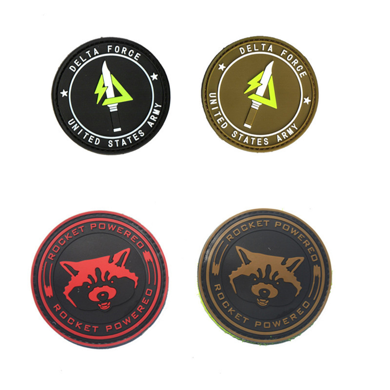 3D-PVC-K9-SERVICE-DOG-One-Shot-One-Kill-Tactical-USA-Army-Morale-Patch-Hook-Loop (2)