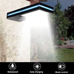 144 LED di Energia solare del Sensore di Movimento Lampada Giardino Security Luce Esterna Impermeabile Portico Luci Lampada Da Giardino