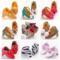 Baby Shoes Princess Girl Mary Jane Shoes Soft Bottom Baby Girl High Top Footwear High Heel Shoes First Walkers Bebe Boots