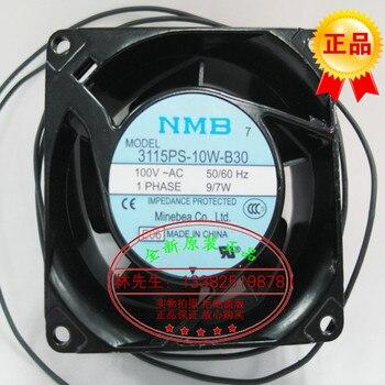 NEW NMB-MAT NMB 3115PS-10W-B30 AC100V 8038 Axial cooling fan