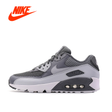 Original New Arrival Official NIKE Men's AIR MAX 90 ESSENTIAL Breathable Running Shoes Sneakers