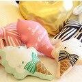 Helado de colores Juguetes de Peluche Para Niños Juguete Suave Hermosa Casa cojín Cama Juguete Inflant Linda Decoración Del Piso Del Bebé Regalo de Cumpleaños 1 unids