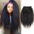 Clipe Reta Kinky Em Extensões Do Cabelo Humano Africano Americano Clipe em Extensões de Cabelo Humano Clipe Ins Remy Encaracolado Afro Crespo cabelo