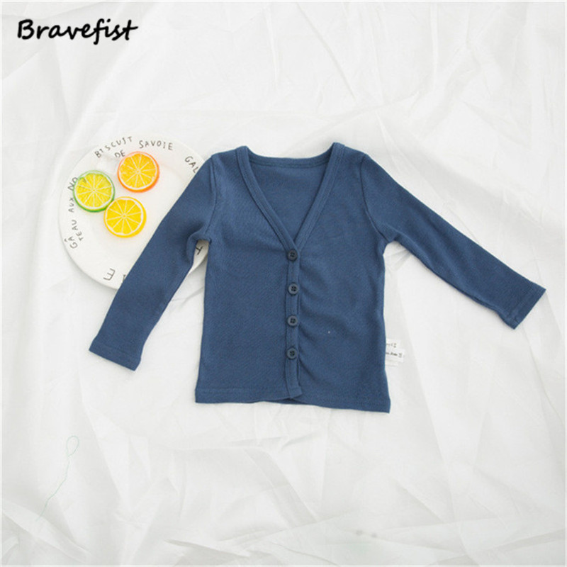 2022681e0 Baby Boy Girl Coat Kids Knit Cardigan Buttons Toddlers Girl Spring ...