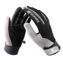 Full Finger Cycling Gloves Racing Road Mountain Bike Glove Durable Anti Static Bicycle Gloves 4 Colors