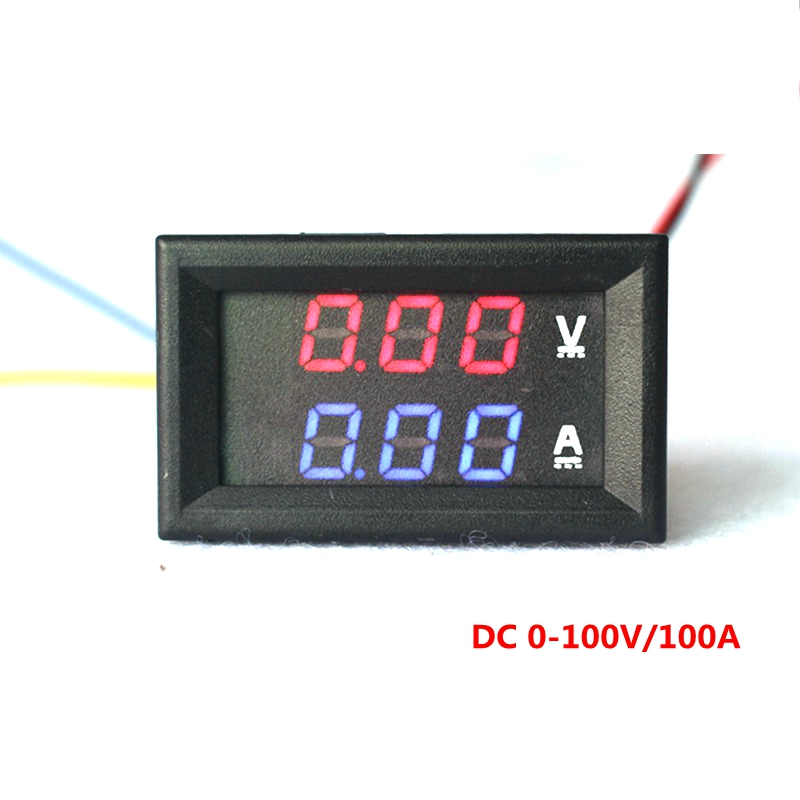 buy car led electrical ammeter voltmeter. Black Bedroom Furniture Sets. Home Design Ideas