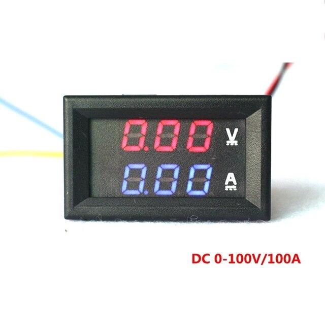 Car LED Electrical Ammeter Voltmeter Ampere Digital Voltage Amp - Car sign with namesonline get cheap d led sign aliexpresscom alibaba group