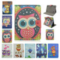 Tablet case 7 inch Cover Case OWL Series Flip PU Leather Case For ARCHOS 70 Helium 4G universal 7 inch Tablet PC+flim