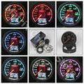 Gre**y Gauge Vacuum Meter 7 Light Colors LCD Display With Voltage Car Meter Gauge 62mm 2.5 Inch With Sensor Racing Greddi Gauge