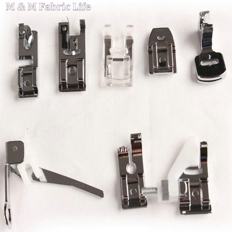 っUn conjunto 8 unids de prensatelas set piezas de la máquina de ...