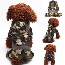 Дождевик для собак Одежда для щенков повседневные плащи водонепроницаемые пальто костюмы XS-XXL 4 цвета товары для питомцев Одежда для щенков