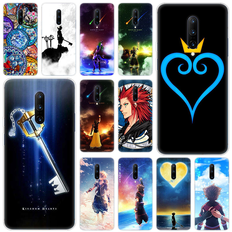 Hot anime kingdom hearts Soft Silicone Fashion Transparent Case For font b OnePlus b font font