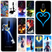 Hot anime kingdom hearts Soft Silicone Fashion Transparent Case For OnePlus 7 Pro 5G 6 6T 5 5T 3 3T TPU Cover
