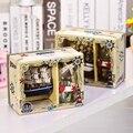Criativo de Casa modelo de ação ornamento vela garrafa sorte desejo Flash Desejando Garrafa De Presente De Aniversário Decoração Da casa modelo do navio