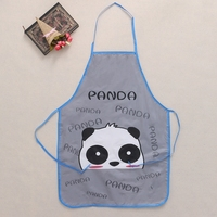 Cute Cartoon Waterproof Apron Kitchen Restaurant Waterproof Cooking Bib Aprons Crafts Housewife Essential Supplies
