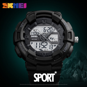 Image 3 - SKMEI Men Watches Outdoor Quartz Sports Wristwatches Fashion Casual Multifunction 50M Waterproof Watch Boy Relogio Masculino