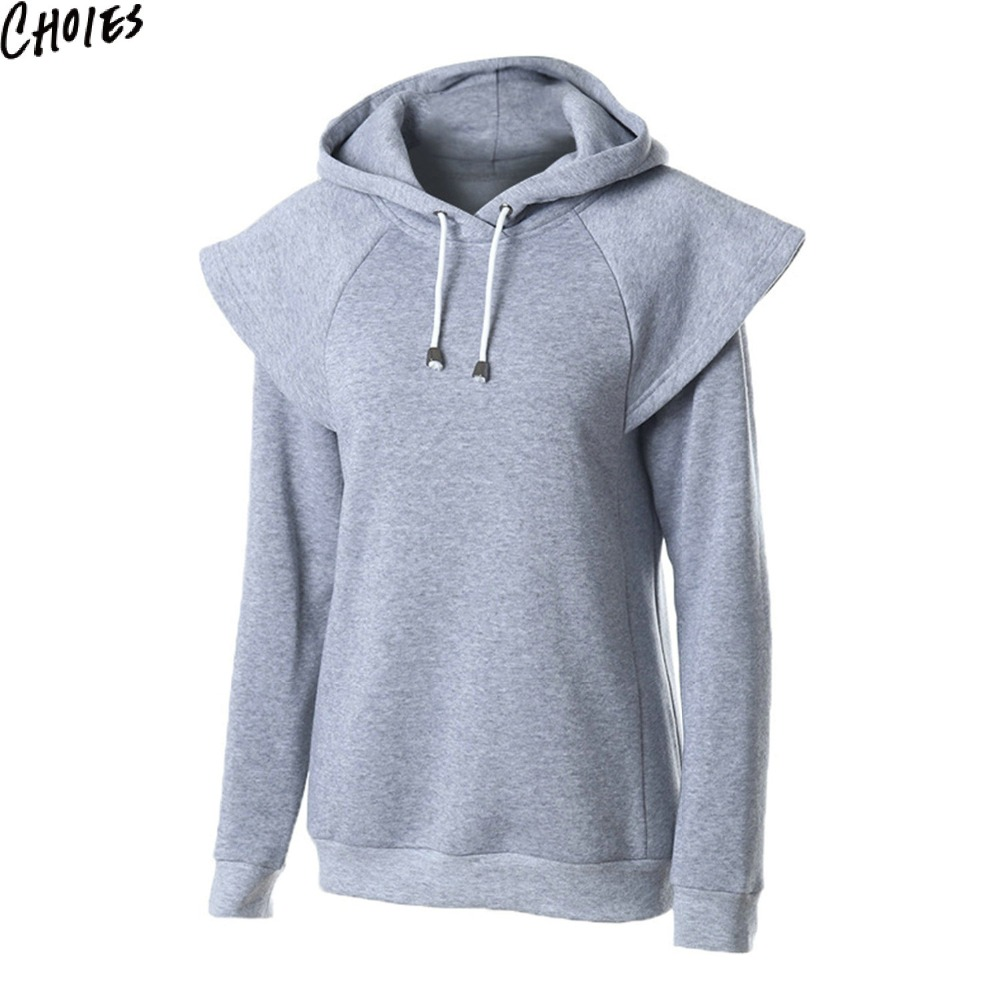 Plain gray hoodie