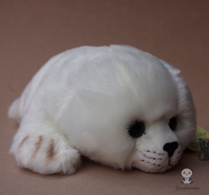 Kids Toys Plush Stuffed Animal White Seal Pups Baby Toy Doll Super Cute пикамилон раствор 10 % 2 мл 10 шт
