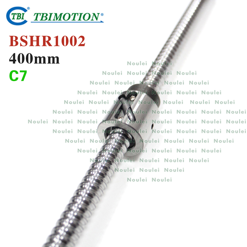 TBI MOTION 1002 Ballscrew 400mm with Without Flange Nut BSH1002 горелка tbi 240 3 м esg