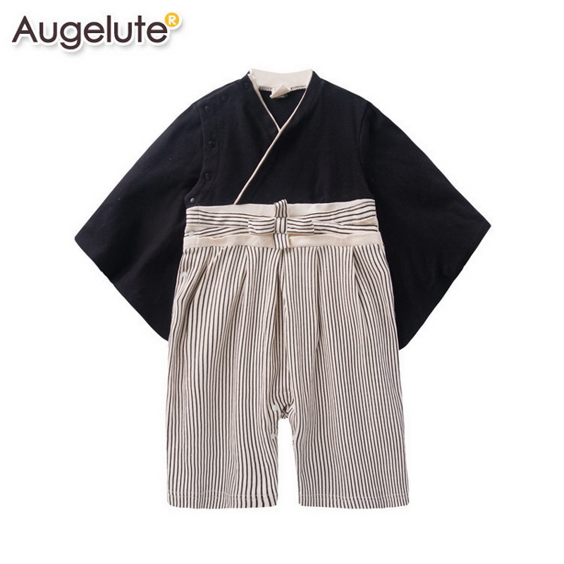 2016 Spring Summer Newborn baby rompers fashion cute Japanese kimono long sleeve baby costume baby clothes bebe 3M -2T
