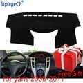 Для Toyota Yaris 2008 2009 2010 2011 приборной панели коврики защитная накладка тенты подушки подкладке стикеры автомобиля Средства для укладки волос