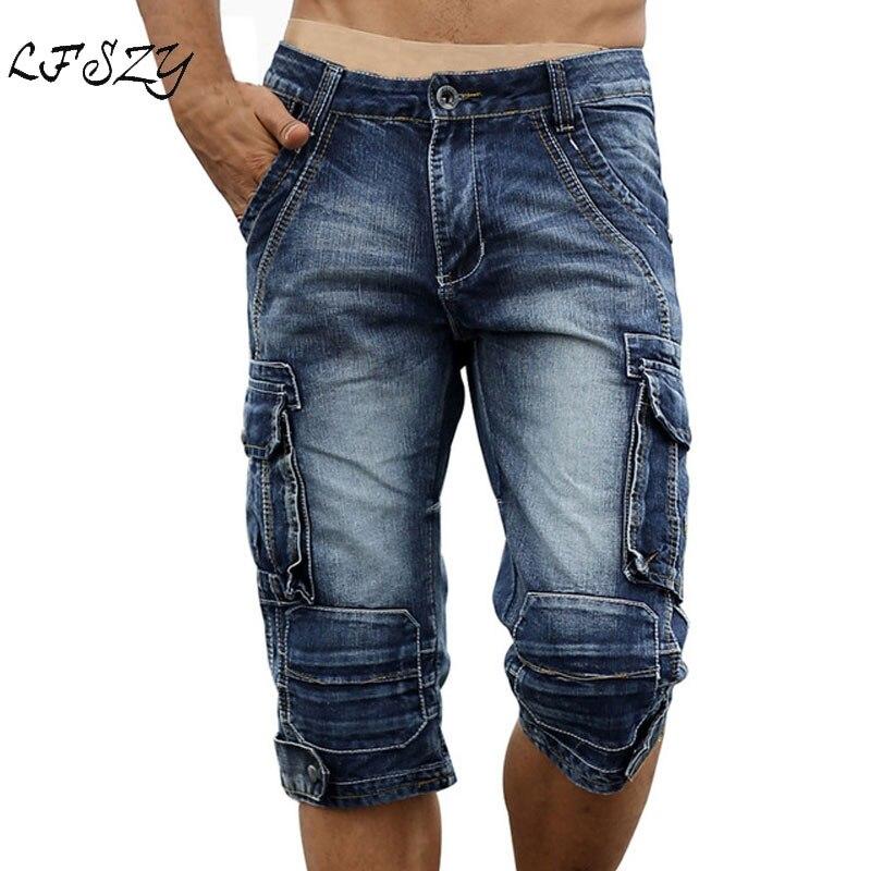 Pantalones Cortos De Hombre Nuevo Para Hombres Pantalones Cortos Informales Jeans Cortos De Jeans 2 Colores Tamanos 30 40 Ropa Calzado Y Complementos Aniversarioqroo Cozumel Gob Mx