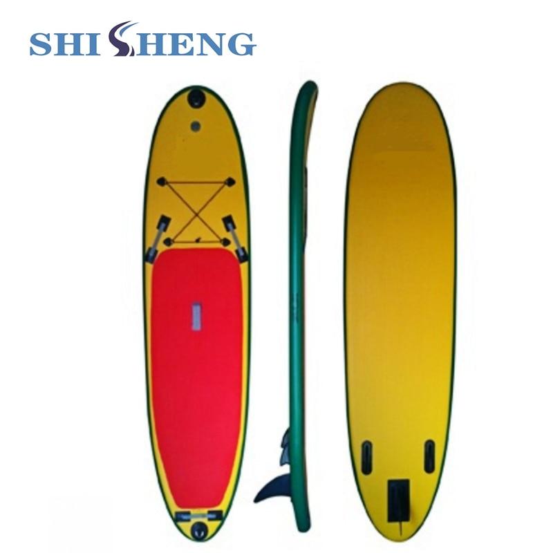 "Bestselling 11'6 ""Shicheng Sups 4''thickness Oppustelige Sup boards Opblåsbare Stand Up Paddle Board med Standard Tilbehør"