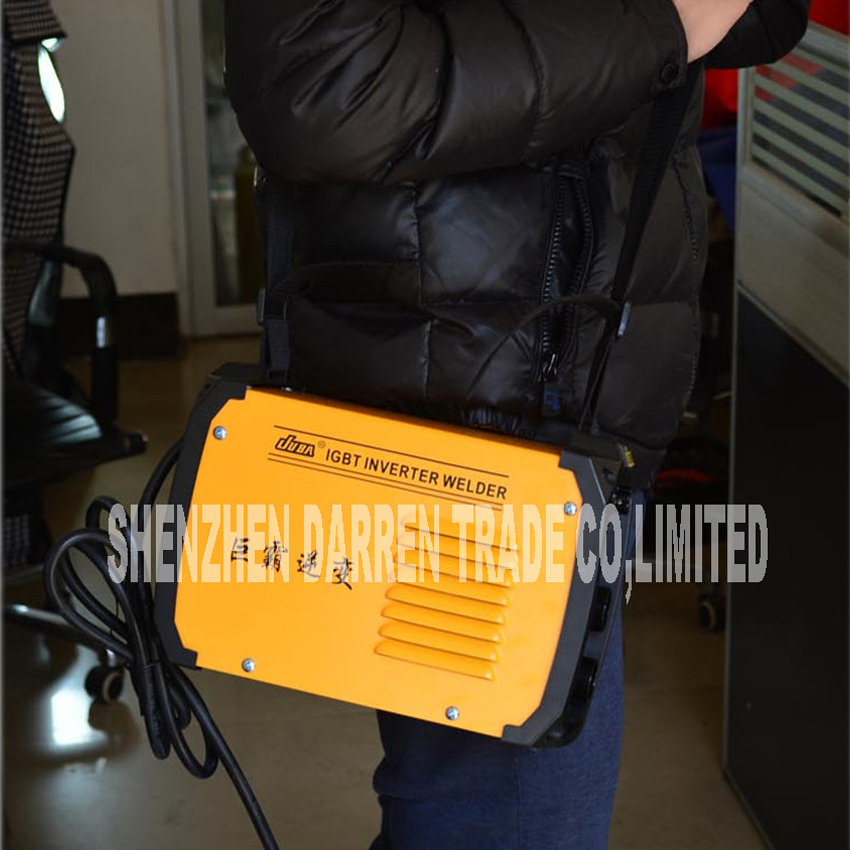ZX7-200 Inverter DC welder shocking arc welding machine TIG welder and iron welding with electrode holder and earth clamp цена