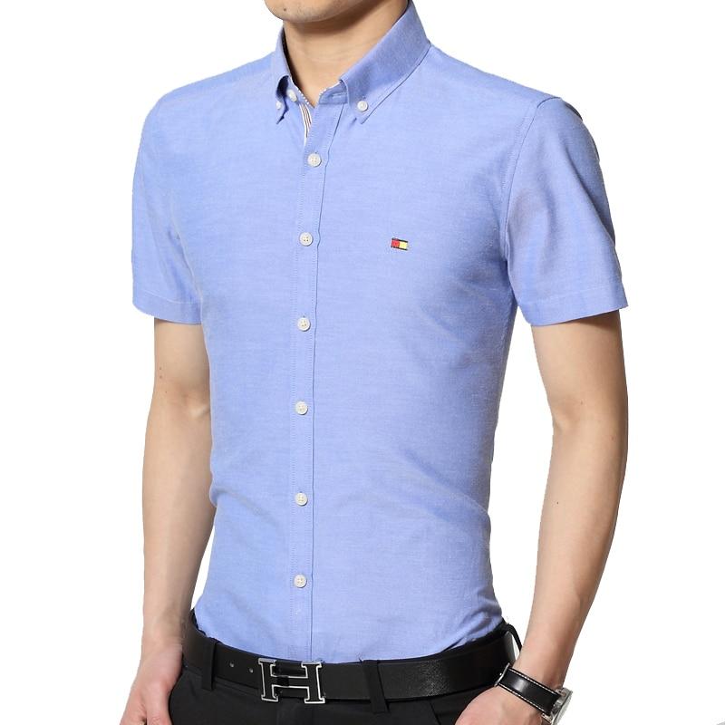 hot sale fashion men short sleeve shirts slim fit mens
