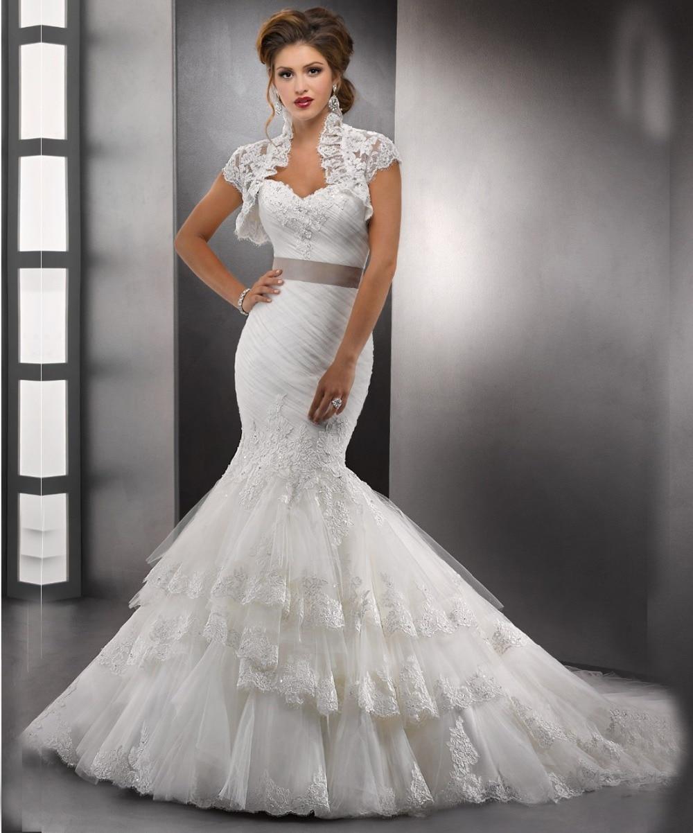 aliexpress : buy 2017 lace sweetheart mermaid wedding dresses