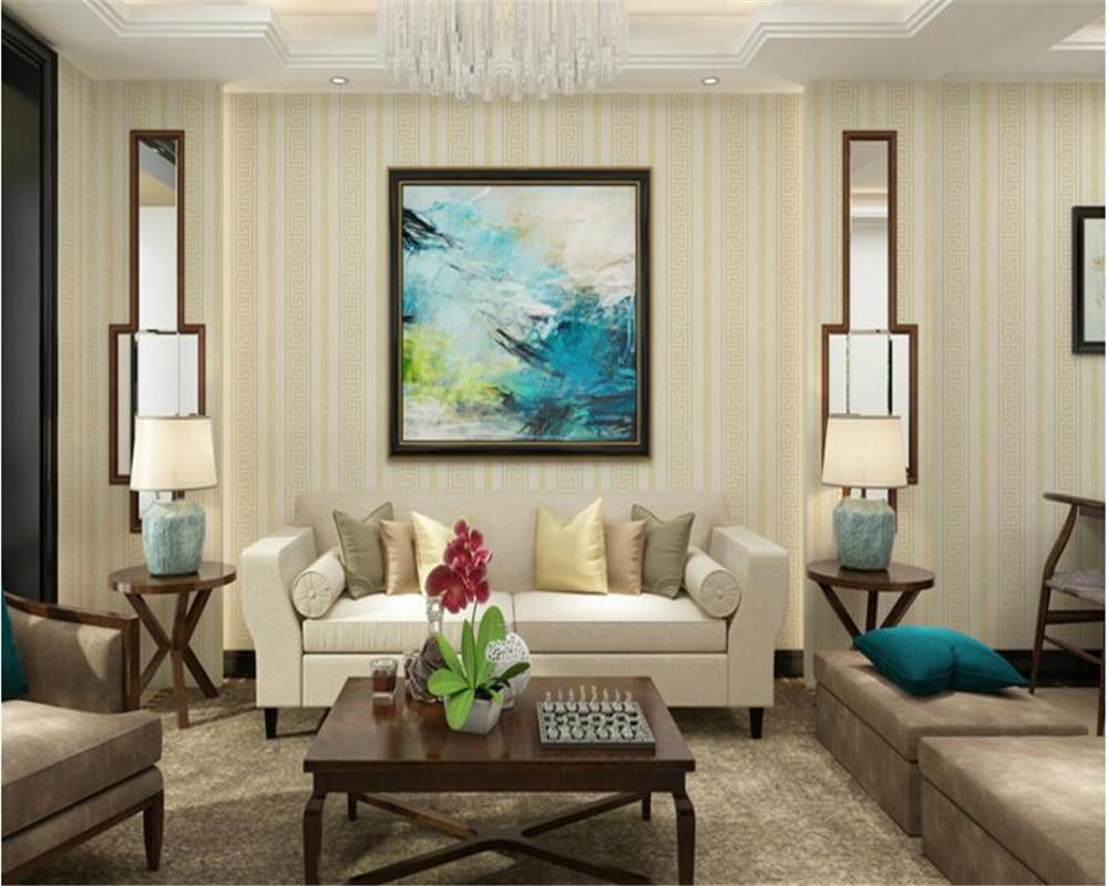 beibehang Neo classical wallpaper bedroom living room non woven ...