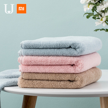 Xiaomi Jordan&Judy Towel 100% Cotton Strong Water Absorption Sport Bath Wash Soft Durable Skin-friendly Facecloth 33*70 CM origial xiaomi zsh towel powerful absorption antibacterial long staple cotton sealed packaging youth series white