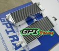 Aleación de aluminio del radiador para yamaha yz400f/yz/yzf 400 f 1998-2000 4 carrera 1999 98 99
