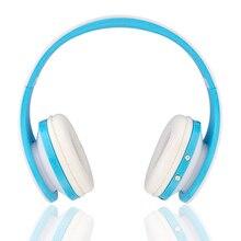 Esportes sem fio Bluetooth Fone De Ouvido Fone de Ouvido Dobrável Com Microfone Para Xiaomi Cartão TF Mp3 Jogador Jogos