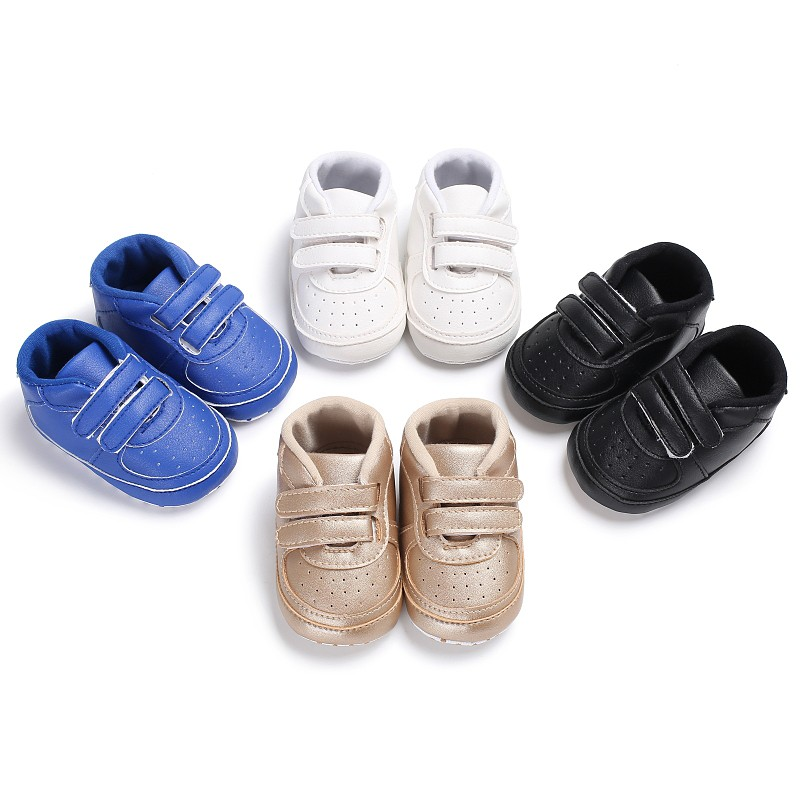 Hot Baby Boys Leisure PU Soft Bottom Spring Autumn Shoes First Walkers Anti-Skid Fashion Newborn Baby Toddler Shoes High Quality