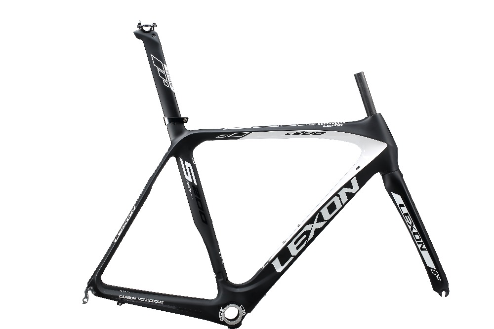 2017 LEXON S200 T1000 carbon 700C road bicycle frame /racing bike frame/ carbon road bike frame+fork +seatpost smileteam 2018 new bsa carbon road bike frameset t800 carbon 700c racing bicycle frame with fork seatpost 2 year warranty