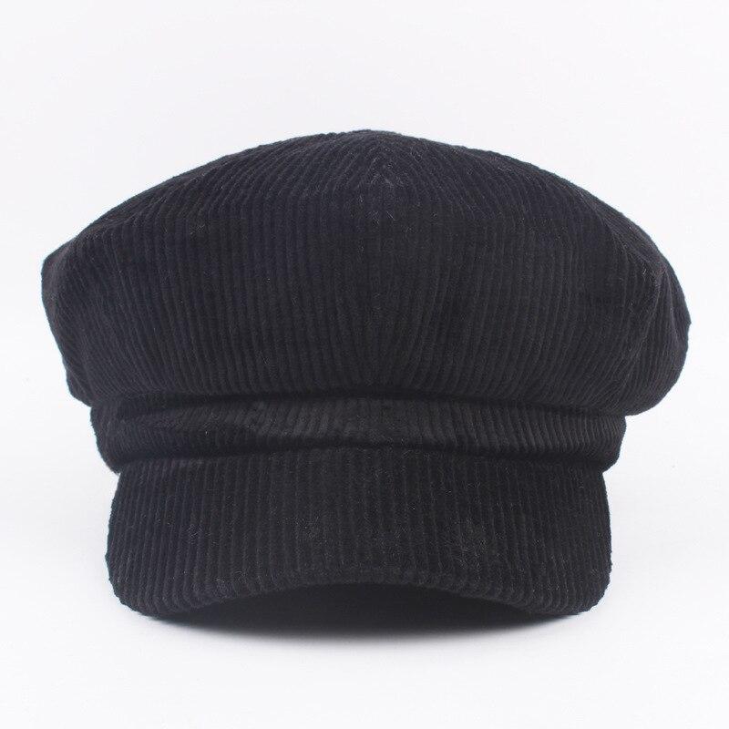 Cokk Tukang Koran Baret Topi Wanita Musim Gugur Musim Dingin Topi untuk  Wanita Pria Oktagonal Cap Painter Hat Vintage Inggris Gorras Boina Feminina  di Baret ... 1e3c1abe6f