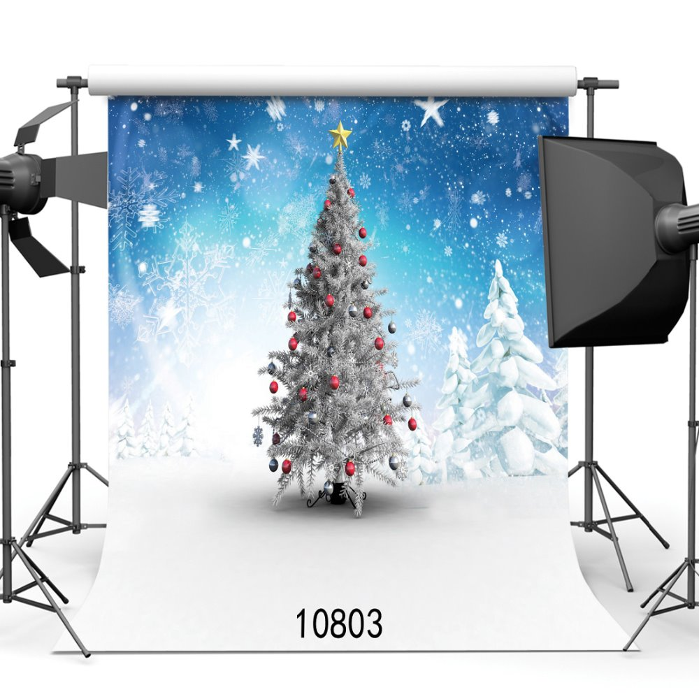 Snowing Christmas Tree.Us 7 09 25 Off Snowing Christmas Tree Photography Portrait Photoshoot Photophone Background For Photo Backdrops For Photo Studio Vinyl 3d In