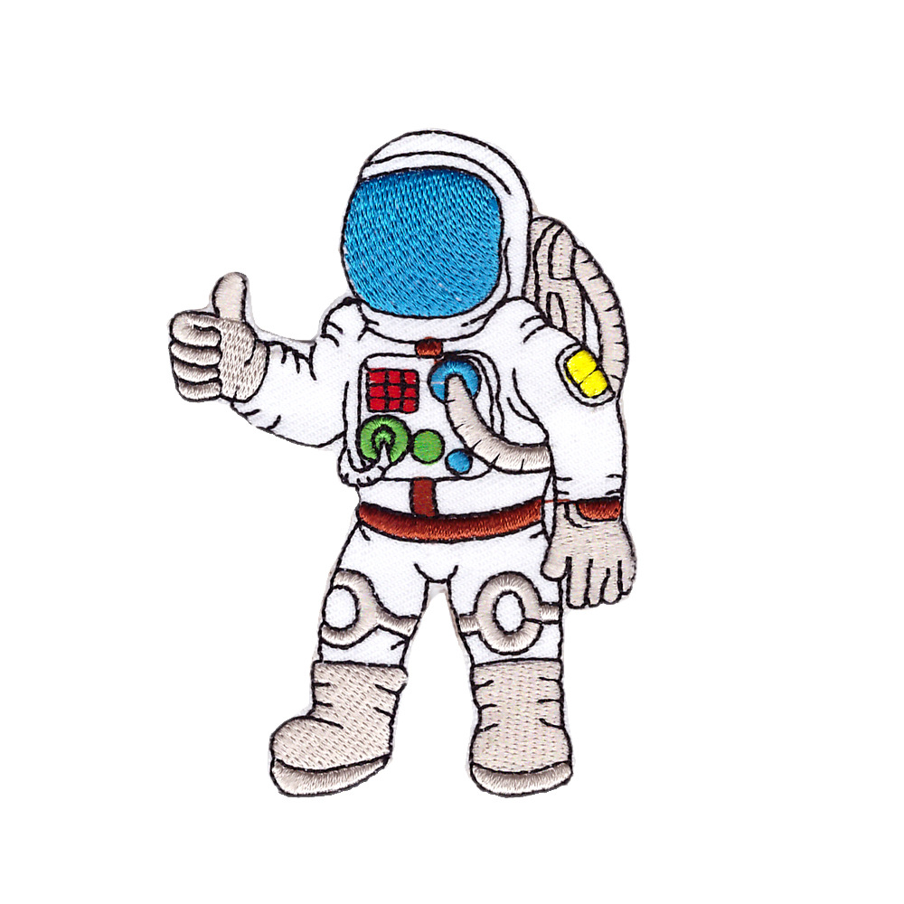 astronauts with ok symbol - 1000×1000