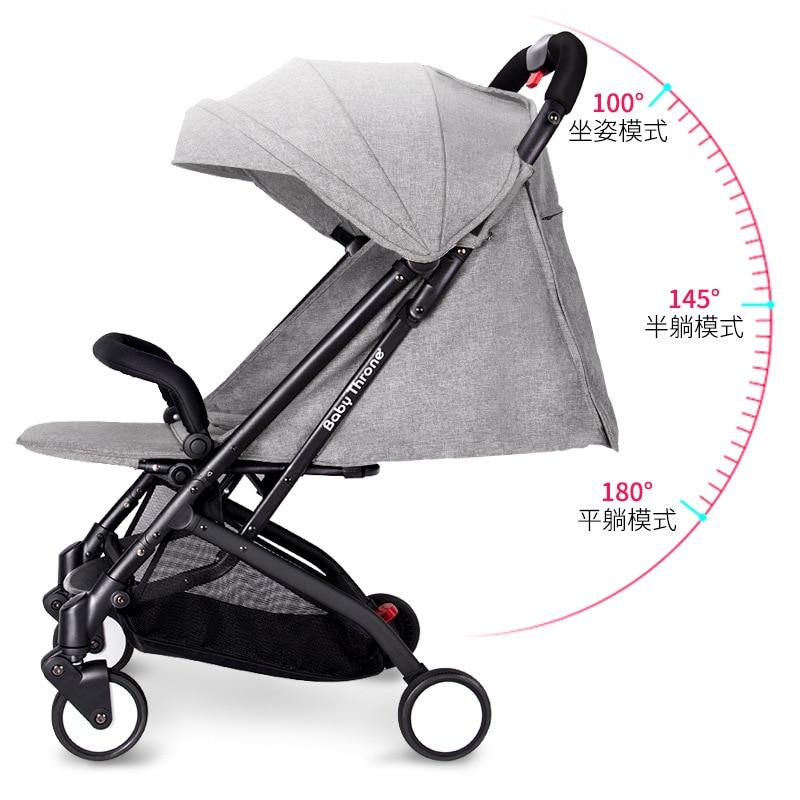 Baby Throne Baby Stroller 3 in 1 Portable Lightweight ...