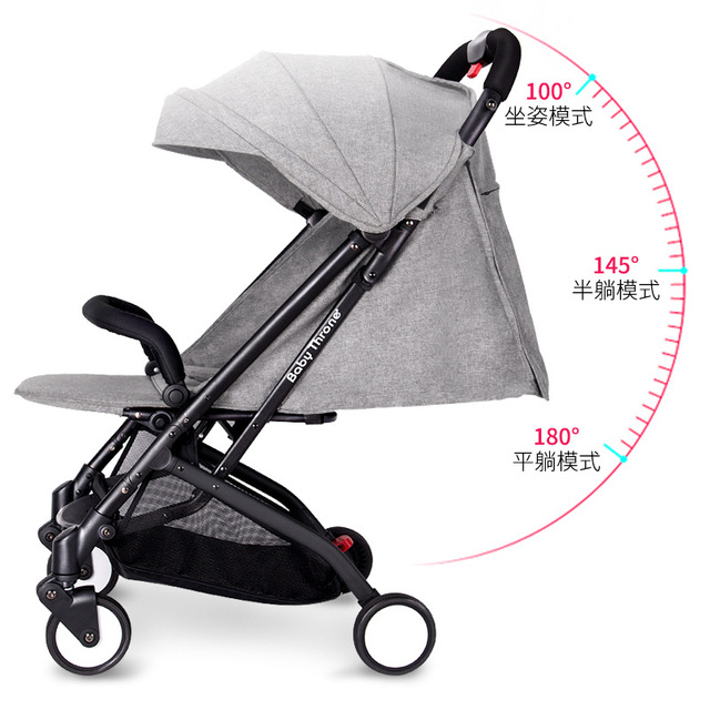 Us 369 0 Baby Throne Baby Stroller 3 In 1 Portable Lightweight Travel Strollers Easy Carry Foldable Umbrella Pram Baby Carriage Car In Strollers