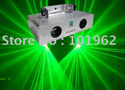 dj light Green Laser Light DMX Sound Auto Stage Light---Free Shipping