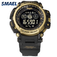 Digital Watches Waterproof SMAEL Watches Men Sport relogio masculino Military Clock Men Digital LED 8018 Smart Bluetooth Watches