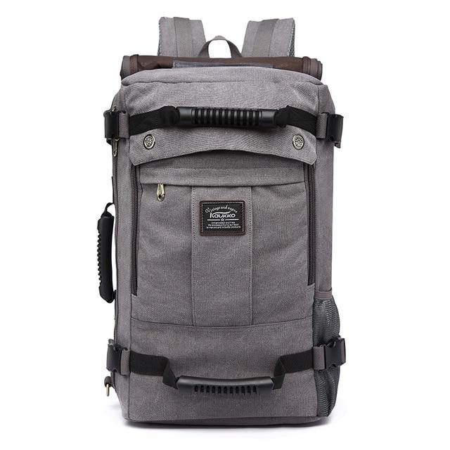 2ac879fcd8 School Backpack for Man Large Capacity Male Multifunctional Travel Bags New  Men Canvas Travel Bag Backpacks KAUKKO